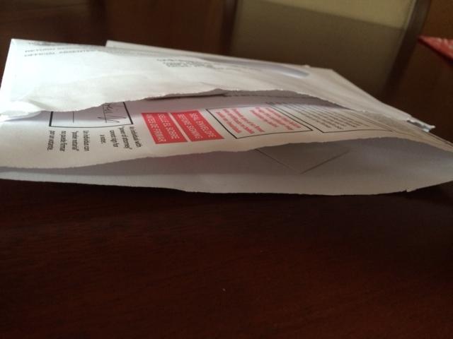 Mai-in ballot problem